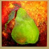 Pear on Gold