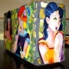 The Girls! Mosaic Vase/Commissioned