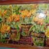 Yellow Tulips in Pots