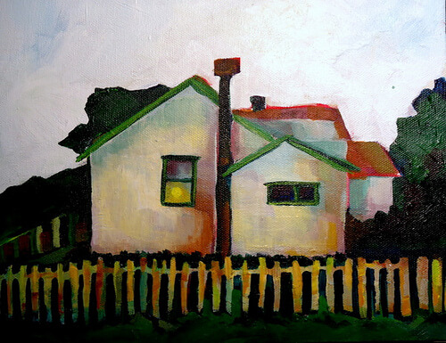 Title:  Lone White House/Commissioned Media: ? Size: ? Price: $