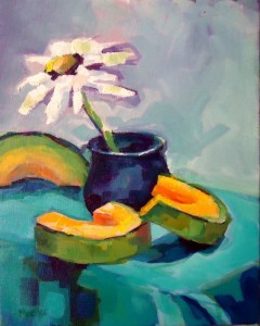 8x10 Acrylic on canvas  starting bid on dailypaintworks.com is $38.00